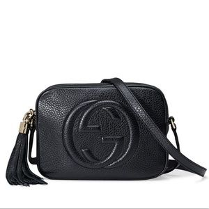 AUTHENTIC Gucci Black Soho Bag